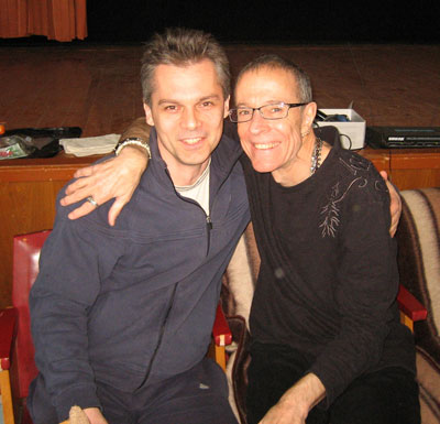 Тев Спаркс (справа) и Сергей Попроцкий.