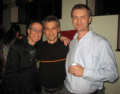 Слева - направо: Тев Спаркс, Сергей Попроцкий, Владимир Майков.
